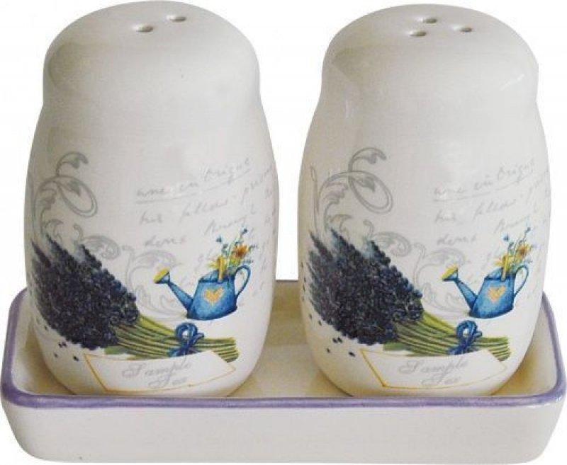 Набор для специй  Лаванда (доломитовая керамика)