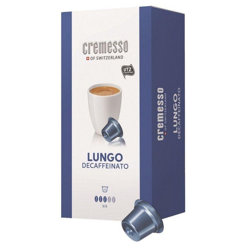 Капсулы для кофемашин Cremesso Decaffeinato 16 порций
