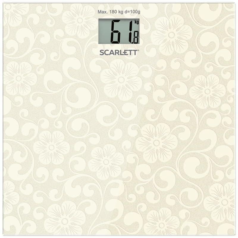 Весы  Scarlett SC-BS33E043 электронные напольные
