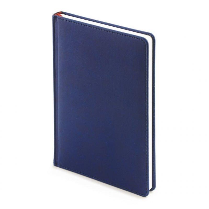 Ежедневник А5 недат Velvet темно-синий