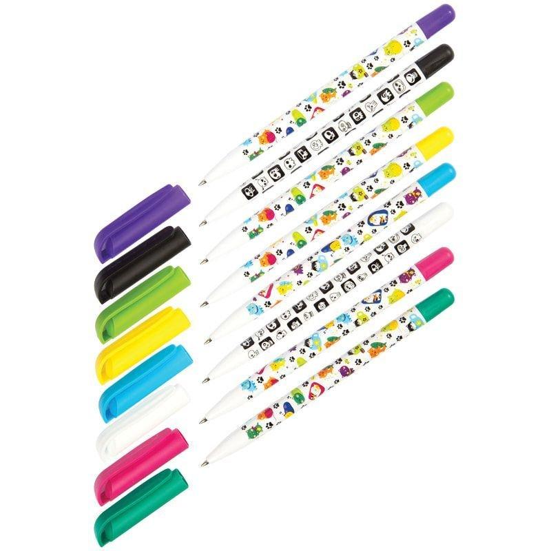 Ручка шариковая Союз SunWrite синяя 0,7мм печать на корпусе ассорти