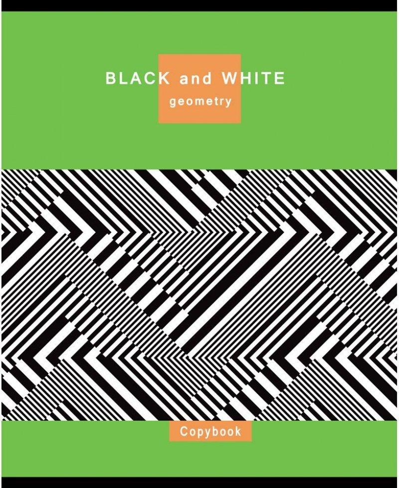 Тетрадь 48л Collezione Черно-белые эпизоды клетка