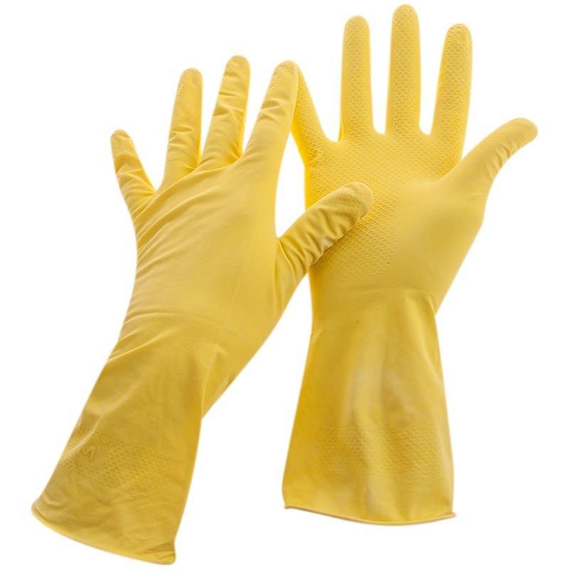 Перчатки хоз латексные Dr. Clean XL инд/уп