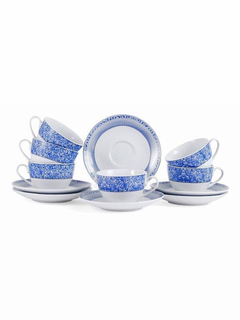 Набор чайный Танриз 12 предметов (фарфор)