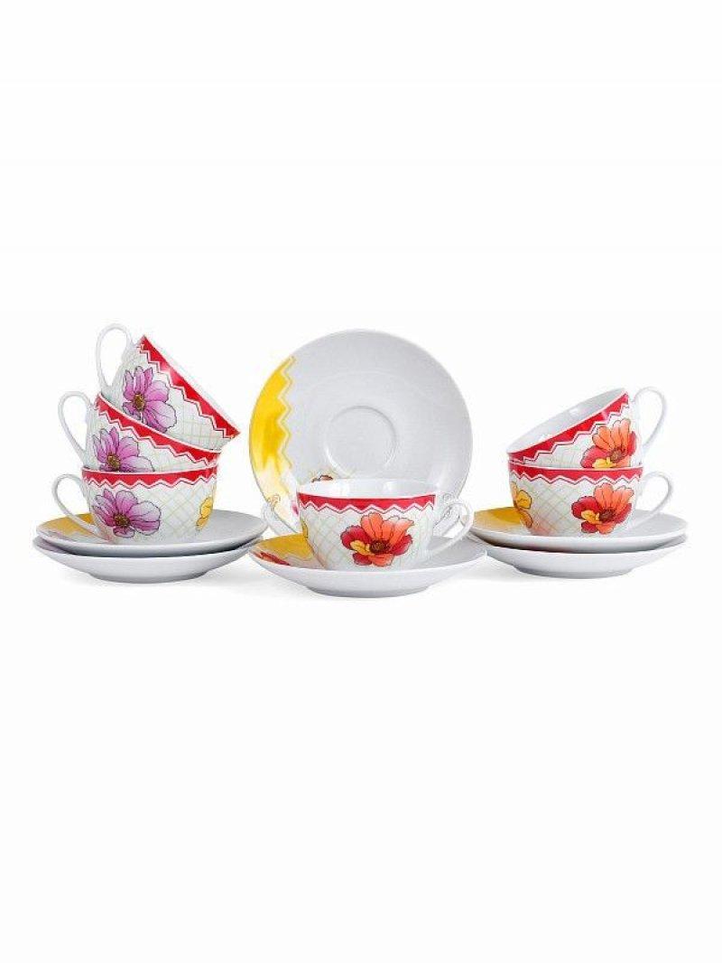 Набор чайный Феррера 12 предметов (фарфор)