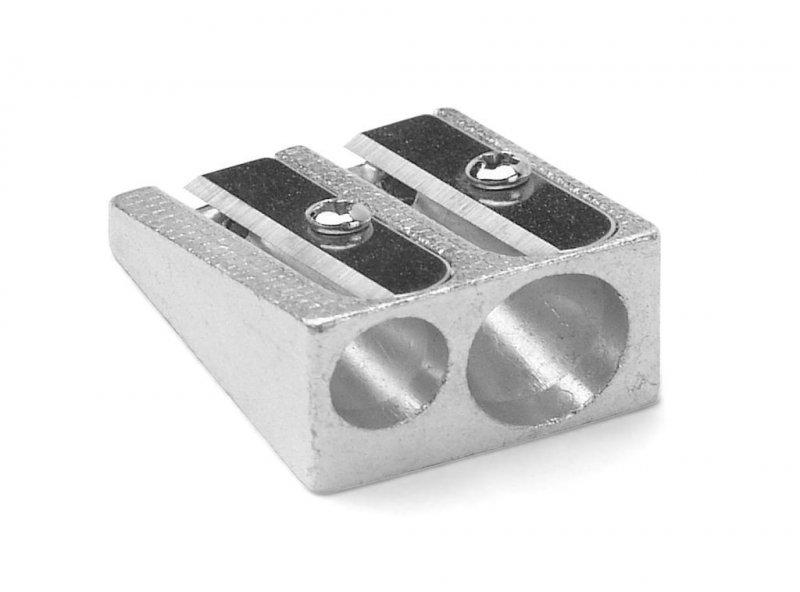 Точилка 2 отверстия Attomex металлическая