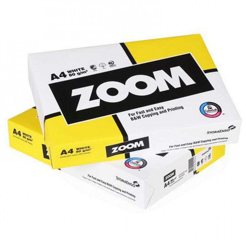 Бумага Zoom A4 80г/м2 150% 500л