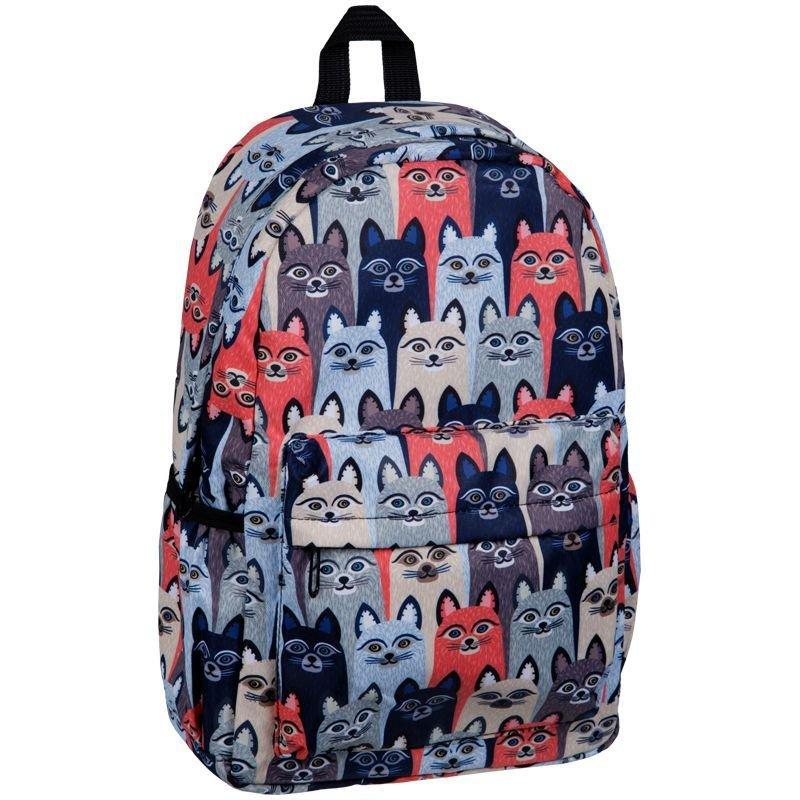 Рюкзак ArtSpace Pattern Cats 41*28*14cм 1 отделение 3 кармана