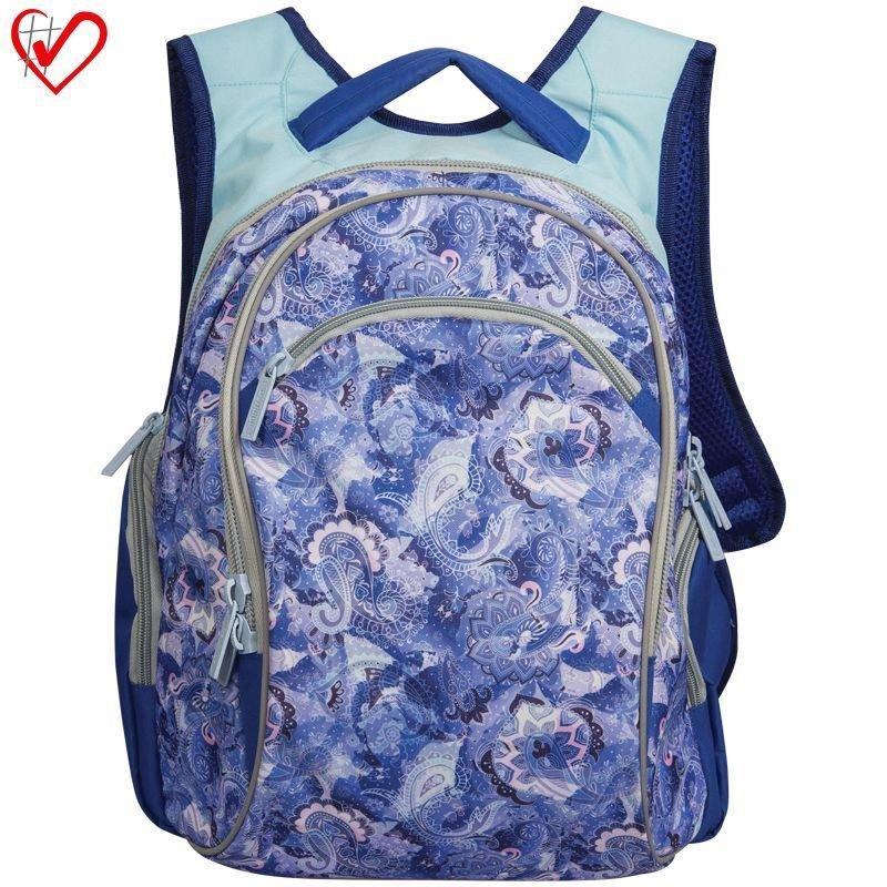 Рюкзак Berlingo Style Lavender blue 39*33*23см 2 отделения 3 кармана эргономичная спинка