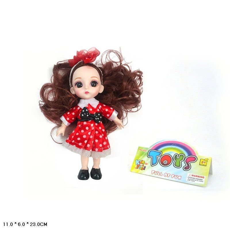 Кукла с пони в пакете 168-13