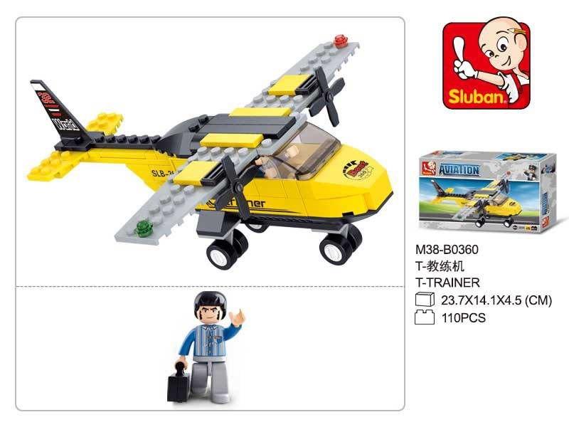 Конструктор пластиковый авиация