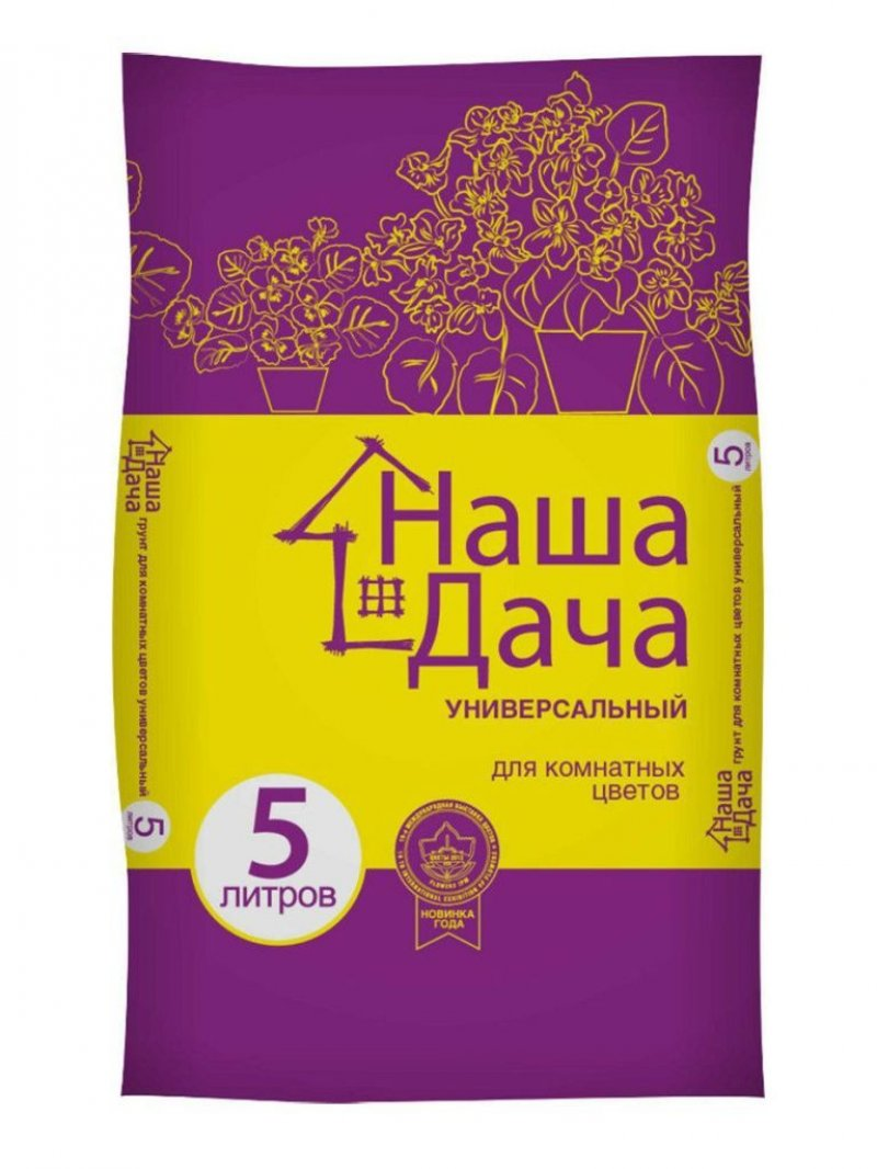 Грунт Наша Дача для комнатных цветов 10л