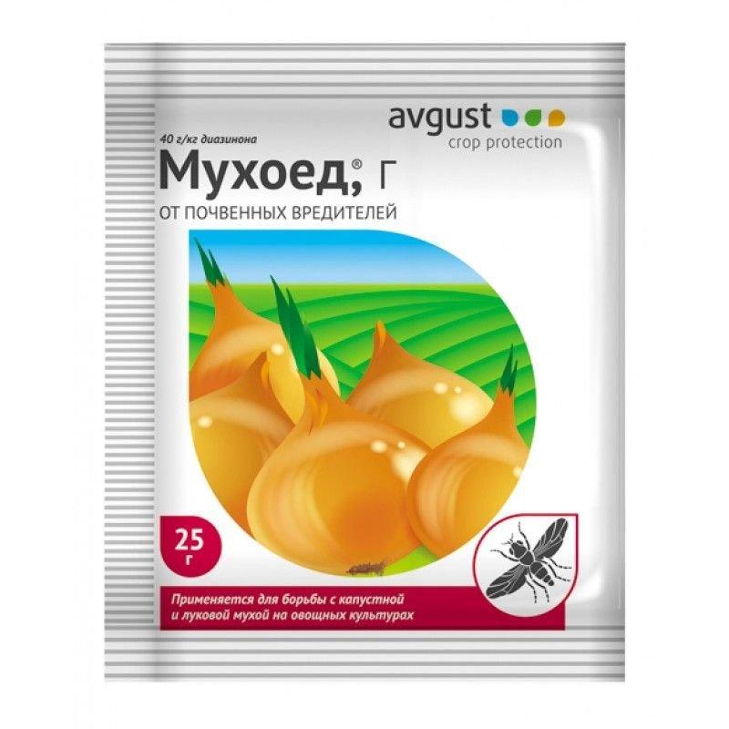 Инсектицид от почвенных насекомых  Мухоед  25г