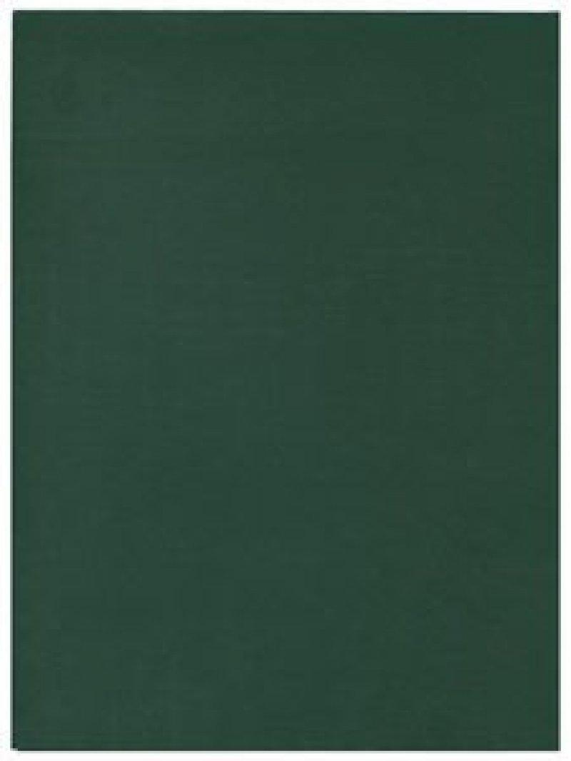 Тетрадь А4 96л Зеленая бумвинил клетка скрепка