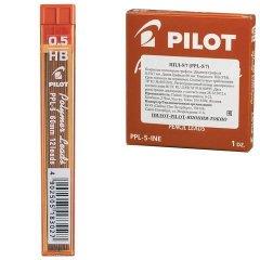 Грифель для мех карандаша 0,5мм Pilot HB 12шт/уп