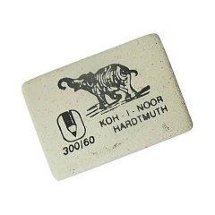 Ластик Koh-i-Noor Elephant 300/60 30х20х8мм прямоугольный каучук белый