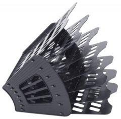 Поддон 7-секционный веер Стамм черный