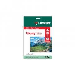 Фотобумага Lomond А4 140г/м2 50л односторонняя глянцевая