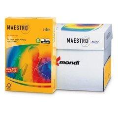 Бумага IQ/Maestro Color А4 80г/м2 500л неон оранжевая
