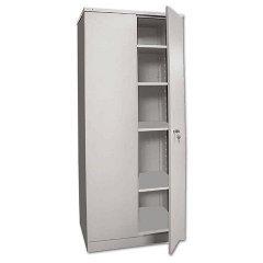Шкаф металлический для документов 2 отделения Надежда ШМС-4 1850х756х452мм 54кг