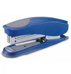 Степлер №24/6 KW-trio 20л пластиковый корпус резиновая вставка с антистеплером ассорти