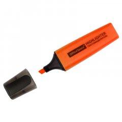 Текстмаркер OfficeSpace 1-5мм скошенный наконечник оранжевый