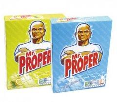 Средство для мытья пола 400гр Мистер Пропер ассорти