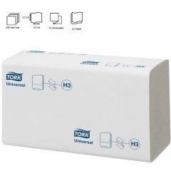Полотенце бумажное Tork Universal 1-сл ZZ (V)-слож 230х230мм 250л белое