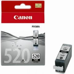 Картридж для Canon Pixma iP3600/4600/MP540/620 PGI-520Bk 344стр черный ориг