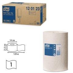 Полотенце бумажное Tork Universal с центральной вытяжкой 120м белое