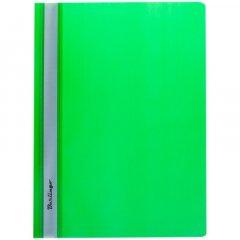 Папка с прозрачным верхним листом Berlingo 180мкм зеленая