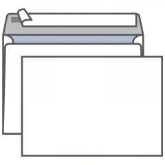 Конверт С5 (162х229мм) белый с отрывной полосой внутренняя запечатка